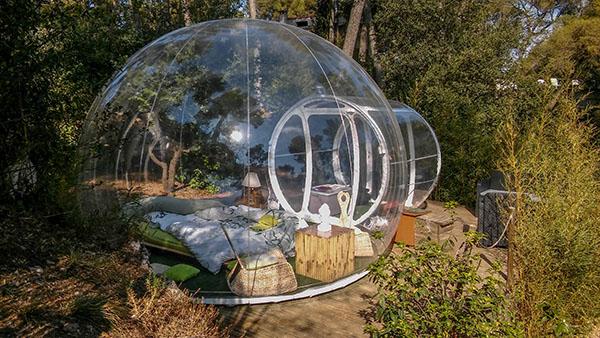 Notre bulle zen transparente