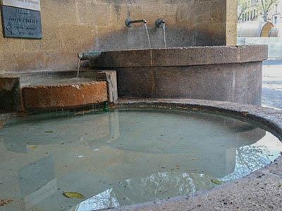 Fontaine - Aix en Provence