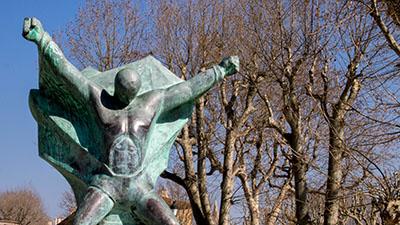 Photo statue Aix en provence