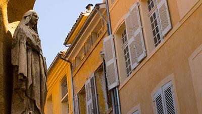 Statue vierge marie - Aix en Provence