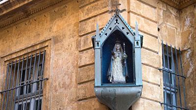 Statue vierge - Aix en Provence
