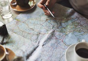 Une carte pour préparer vos randonnées