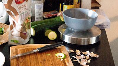 Cuisinons des steaks de légumes