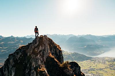 randonnées : au sommet