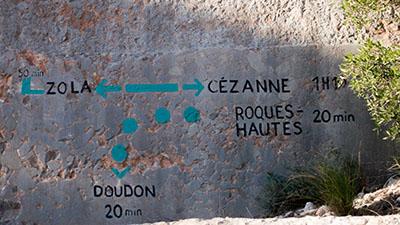 Direction barrage de Zola
