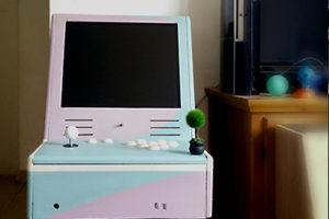 La borne d'arcade rétro de Borne To Be