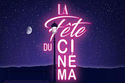 affiche de la fête du cinéma
