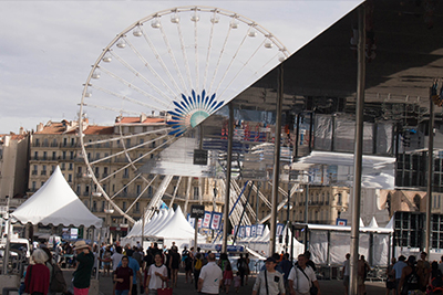 Marseille ombrière