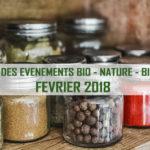 Agenda Aixois des événements bio & nature – février 2018