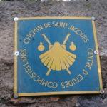 La coquille de Saint Jacques, emblème des pèlerins de Compostelle