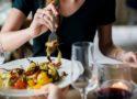 dîner dans un restaurant à Aix