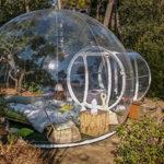 Se rapprocher de la nature pendant une nuit en dormant dans une bulle