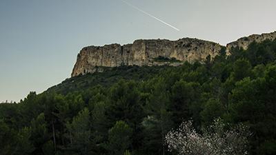 Vue sur le Mont Julien