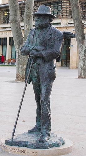 Statue Cézanne