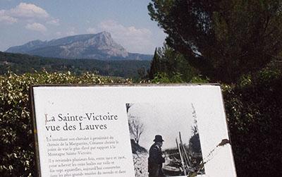 Le Terrain des peintres sur la colline des Lauves