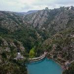 Le barrage de Bimont, un édifice de 180m