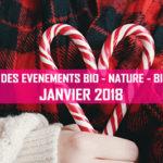 Agenda des événements bio & nature – janvier 2018