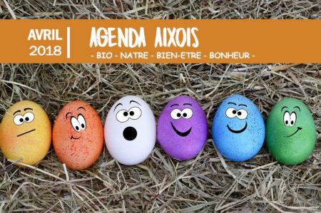agenda des événements Aixois avril 2018