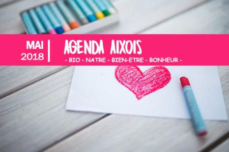agenda des événements Aixois mai 2018