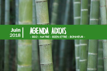 agenda des événements Aixois juin 2018