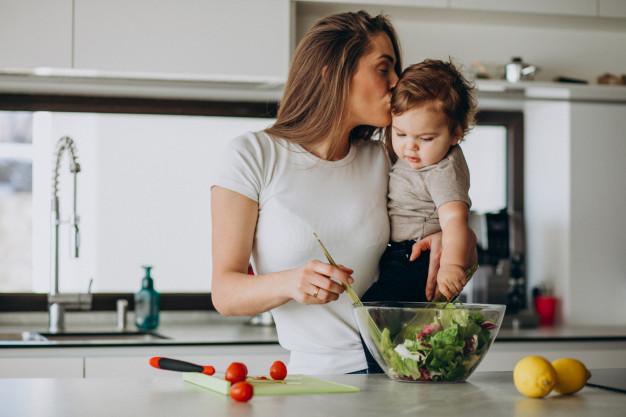 cuisiner à la maison avec enfant