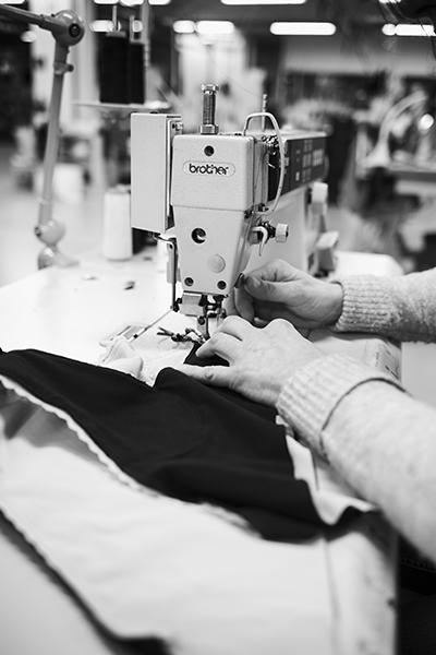 fabrication des culottes Réjeanne